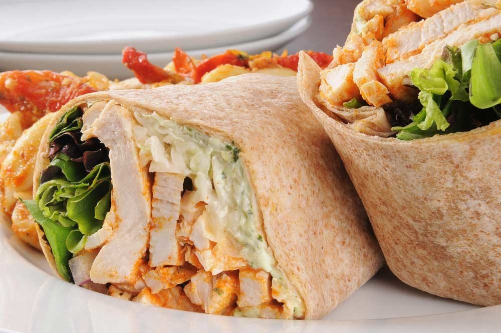 Grilled Chicken Wrap 1091