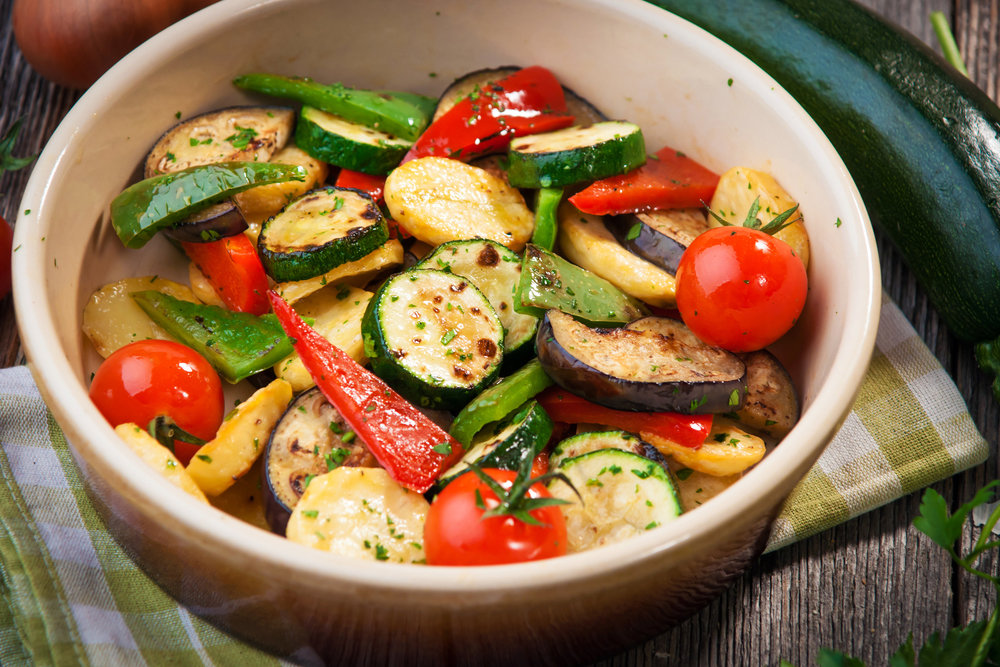 Roasted Mixed Vegetables 1641