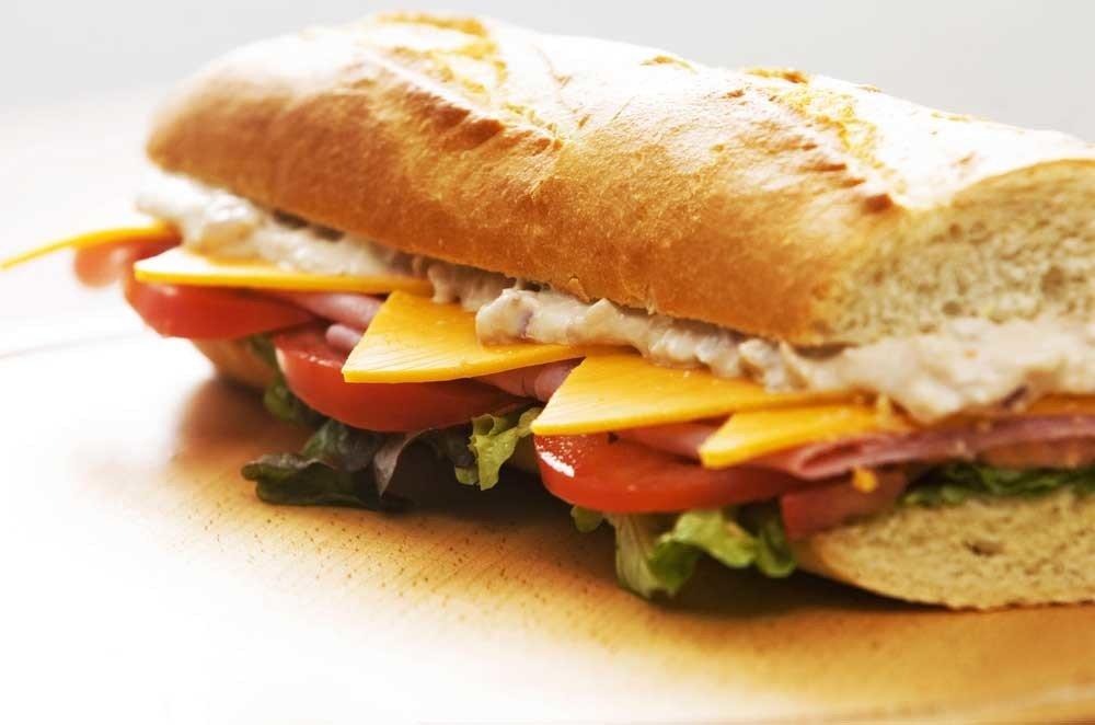 Tuna Melt Sandwich 2091