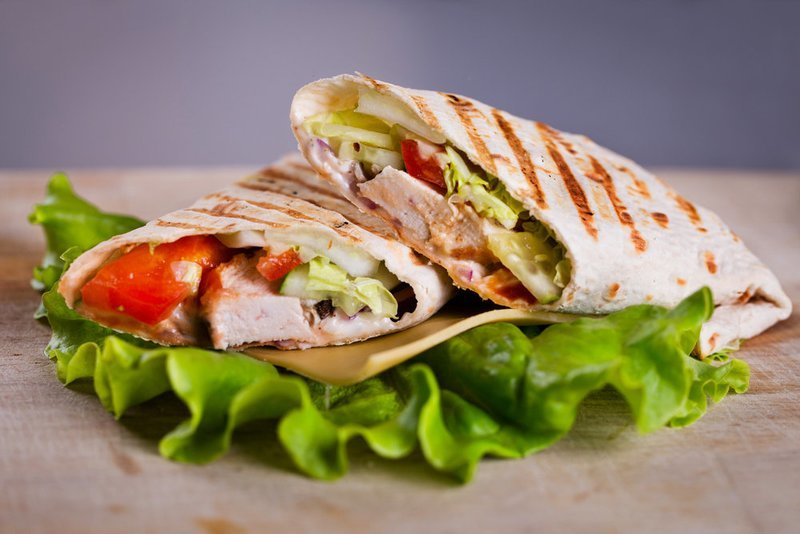 Prima Facie Chicken Wrap