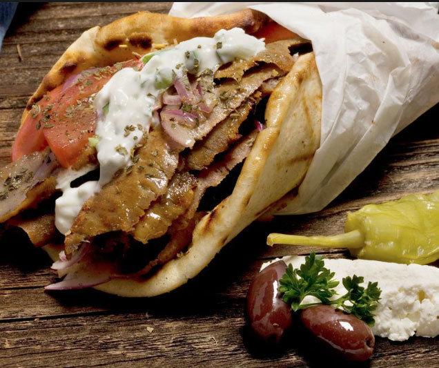 Beef Shawarma Wrap