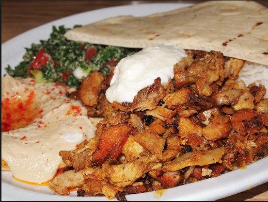 Chicken Shawarma Plate 00010