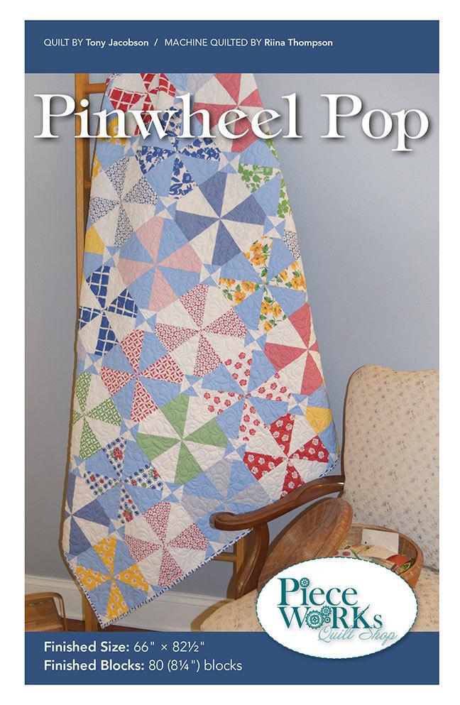 """""""Pinwheel Pop"""" Quilt Pattern PDF Pinwheel Pop"""