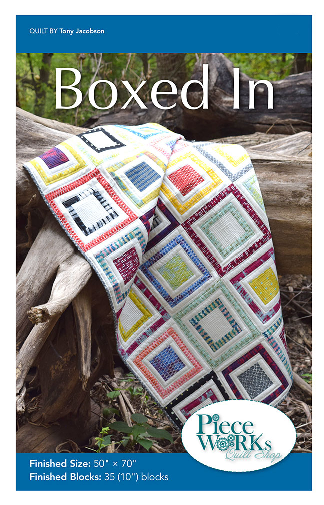 """Boxed In"" Quilt Pattern PDF Boxed In"