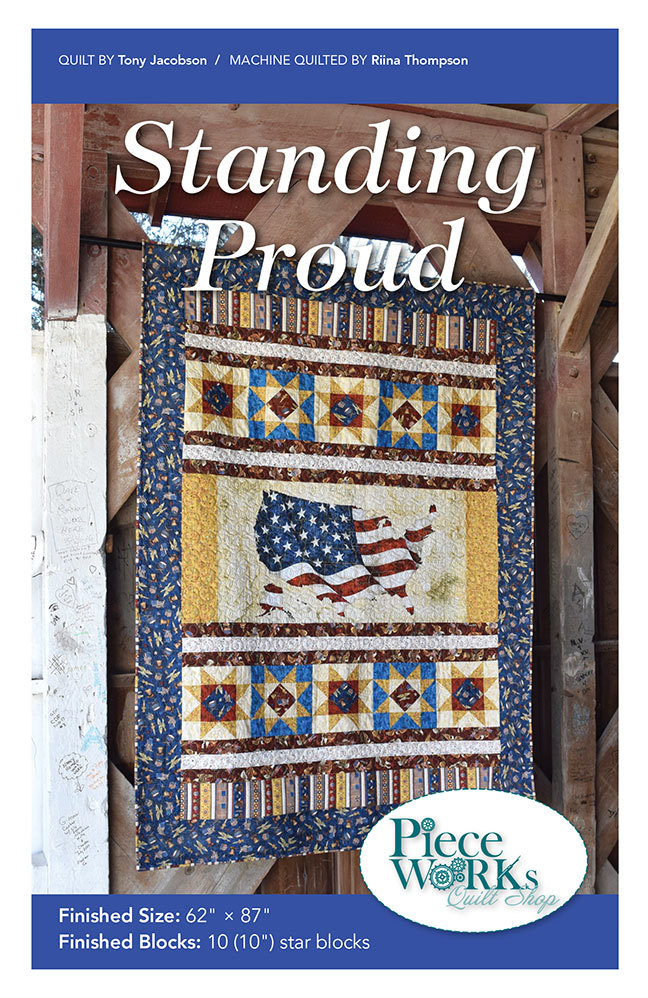 """Standing Proud"" Quilt Pattern PDF Standing Proud"