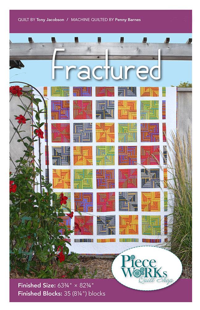 """Fractured"" Quilt Pattern PDF Fractured"