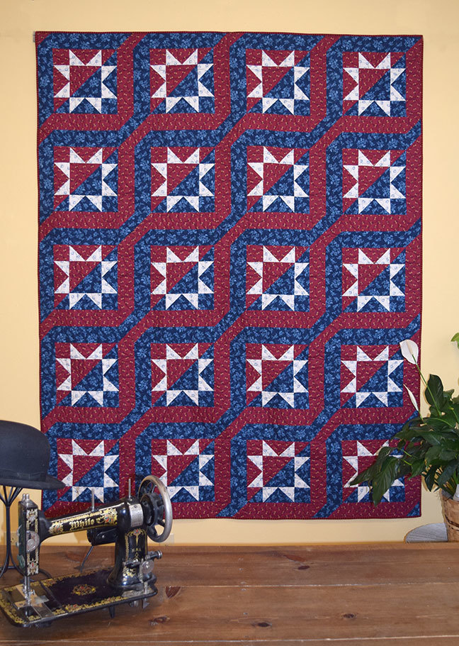 """We've Got Spirit"" Quilt Pattern PDF"
