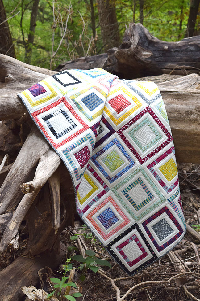 """Boxed In"" Quilt Pattern PDF"