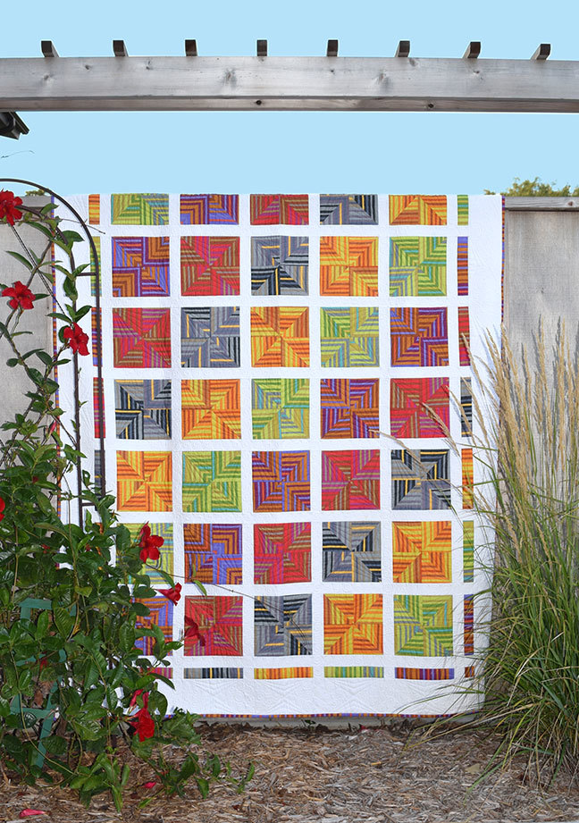 """Fractured"" Quilt Pattern PDF"