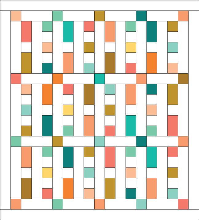"""Haiku Half Pint"" Quilt Pattern PDF Haiku Half Pint"