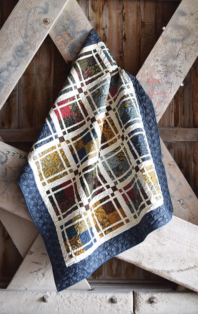 """Prairie Panes"" Quilt Pattern PDF Prairie Panes"