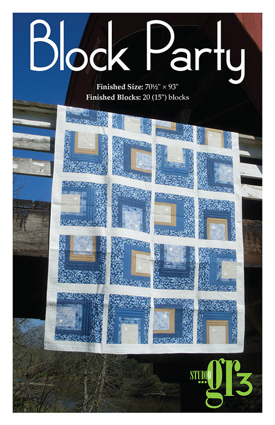 """Block Party"" Quilt Pattern PDF Block Party"