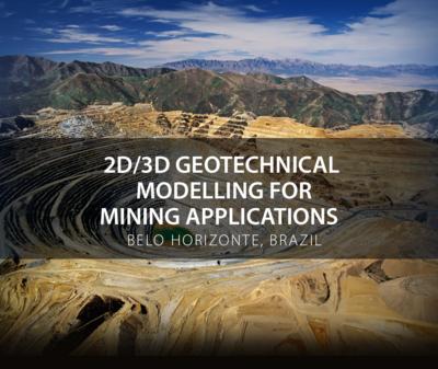 2D/3D Geotechnical Modelling for Mining Applications SVSC2019BRAZIL