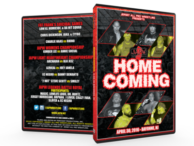 JAPW Homecoming (4/30/16 Bayonne, NJ)