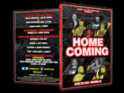 JAPW Homecoming (4/30/16 Bayonne, NJ)