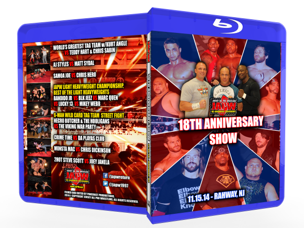 JAPW 18th Anniversary Show (11/15/14 Rahway, NJ)