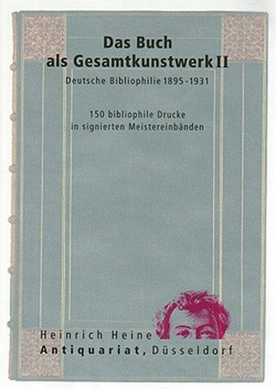Das Buch als Gesamtkunstwerk (Meistereinbände) II. a300101816