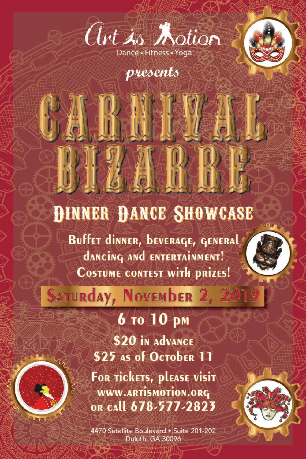 General Admission - The Carnival Bizarre - November 2nd