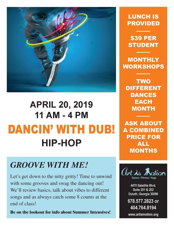 Dance Workshop - Hip Hop