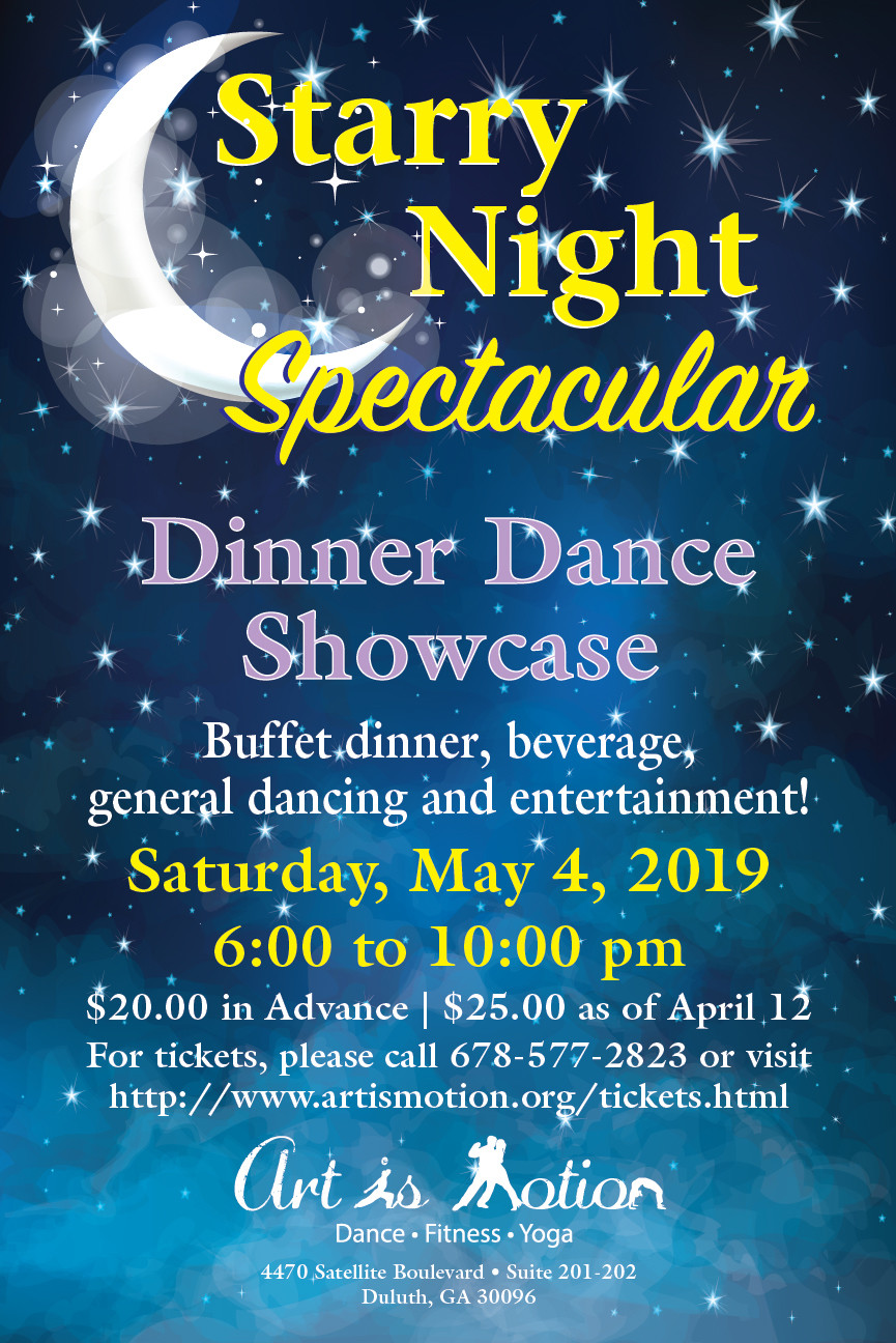 General Admission - Starry Night Spectacular - May 4th
