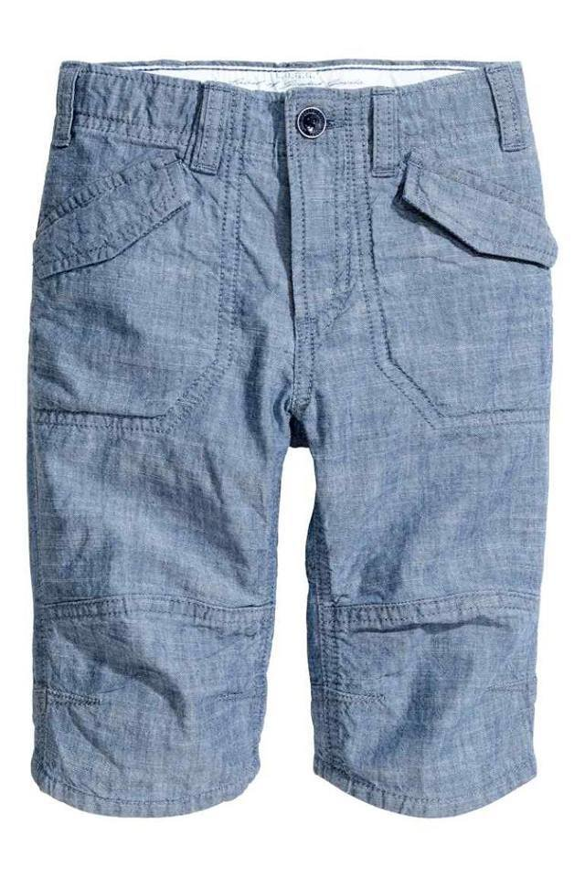 Denim blue Clamdiggers