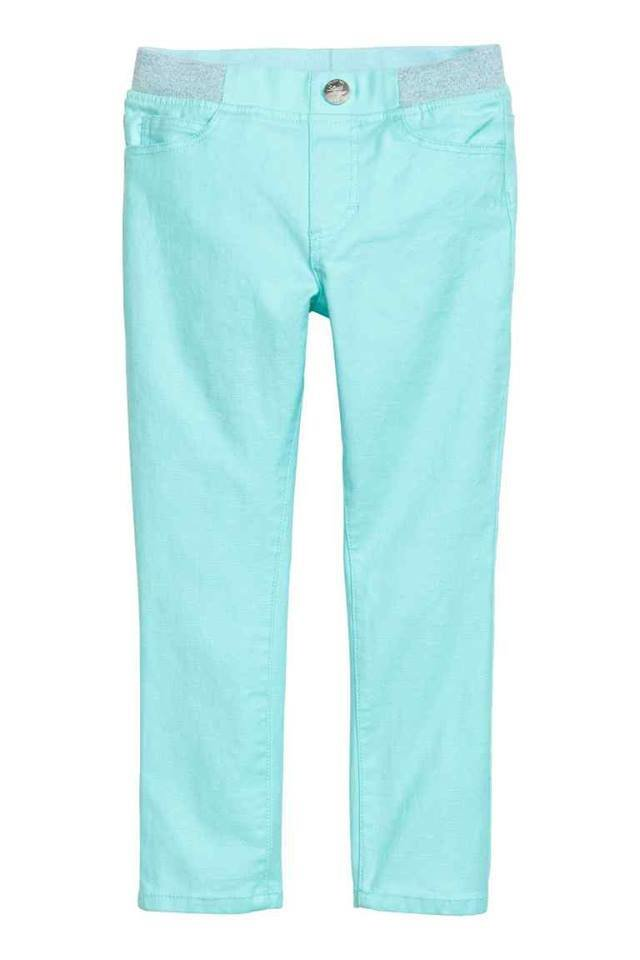 Light turquoise Treggings