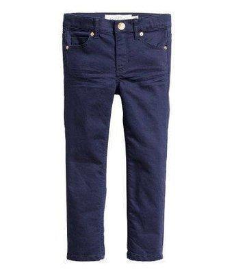 Dark blue Twill trousers