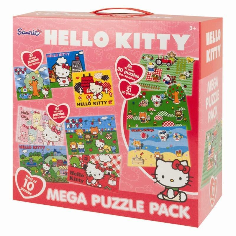 Hello Kitty 10 in 1 Puzzle
