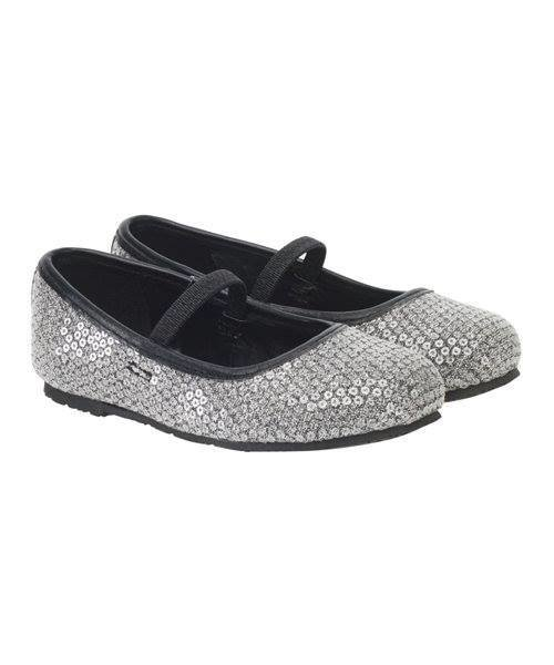 White  SEQUIN Glitter Shoes