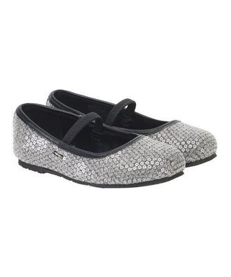 White  SEQUIN Glitter Shoes