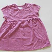 Yoke Frill Tops Pink