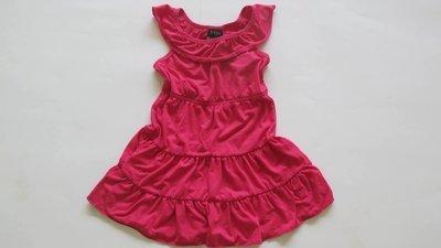 Solid Ruffle Tier Dress