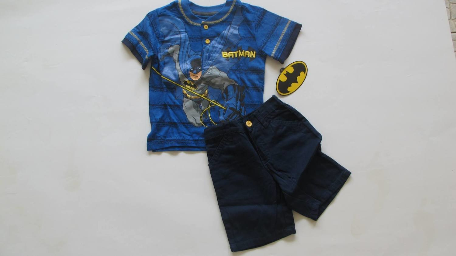 2pc Batman Short Set