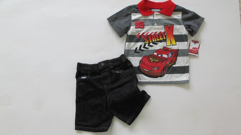 2 pc McQueen Polo Shirt Set