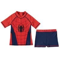 Character spiderman 2 Piece Swim Set