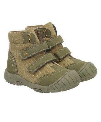 First Walker Khaki Boots(khaki'5' with straps)