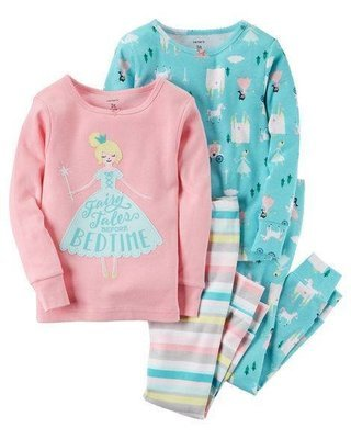 2-Piece Fairy Snug Fit Cotton PJs