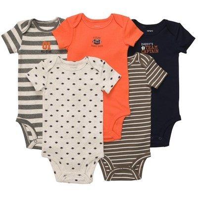 4-Pack Short-Sleeve Bodysuits