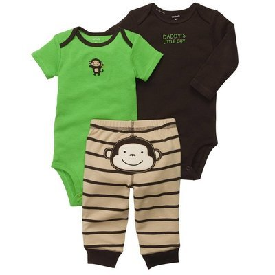 3-Piece Bodysuit Pant Set