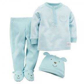3piece set ;Bodysuit hat and pants