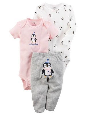 3-Piece Little Pink Character Set