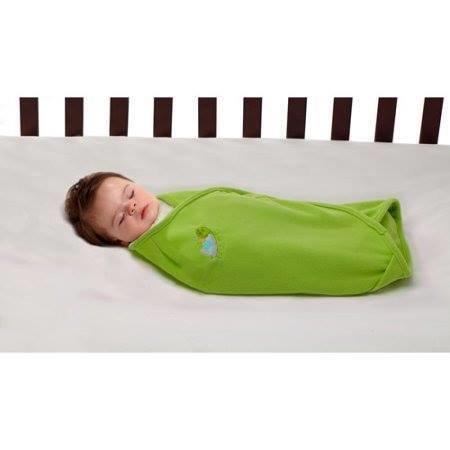 Green Swaddle Blanket