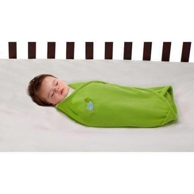 Green Swaddle Blanket
