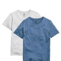 Blue marl 2 Pack T Shirt