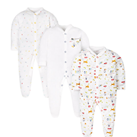 3 Pack all around the world sleep suits