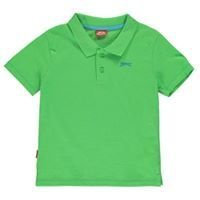 Green Slazenger Plain Polo Shirt