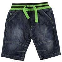 Mid wash No Fear Ribbed Waist Shorts Boys