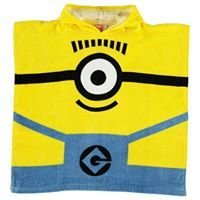 Minions Character Towel Poncho Infant