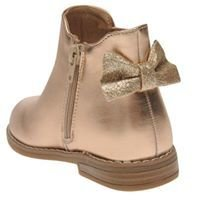 Rose gold Crafted chelsea boots