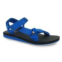 Blue/Black Gelert EVA Infants Sandals
